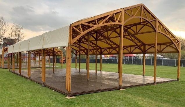 Tentenverhuur Gelderland - Tent opbouwen