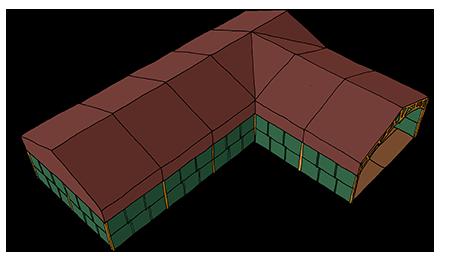 Tent Creator - L shape example