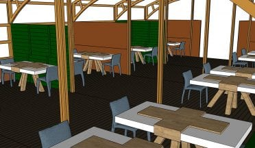 Vakwerktenten - Restaurant Interieur